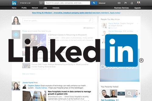 screenshot of a linkedin profile