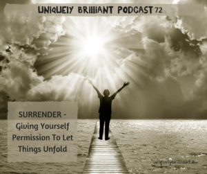 Surrender equals growth